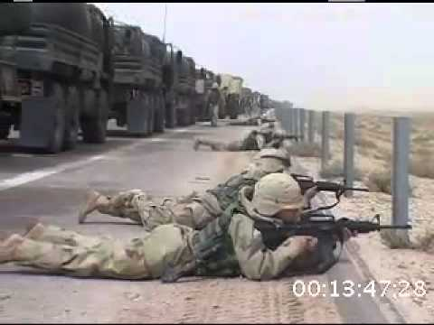 Iraq War 2003, Military Convoy