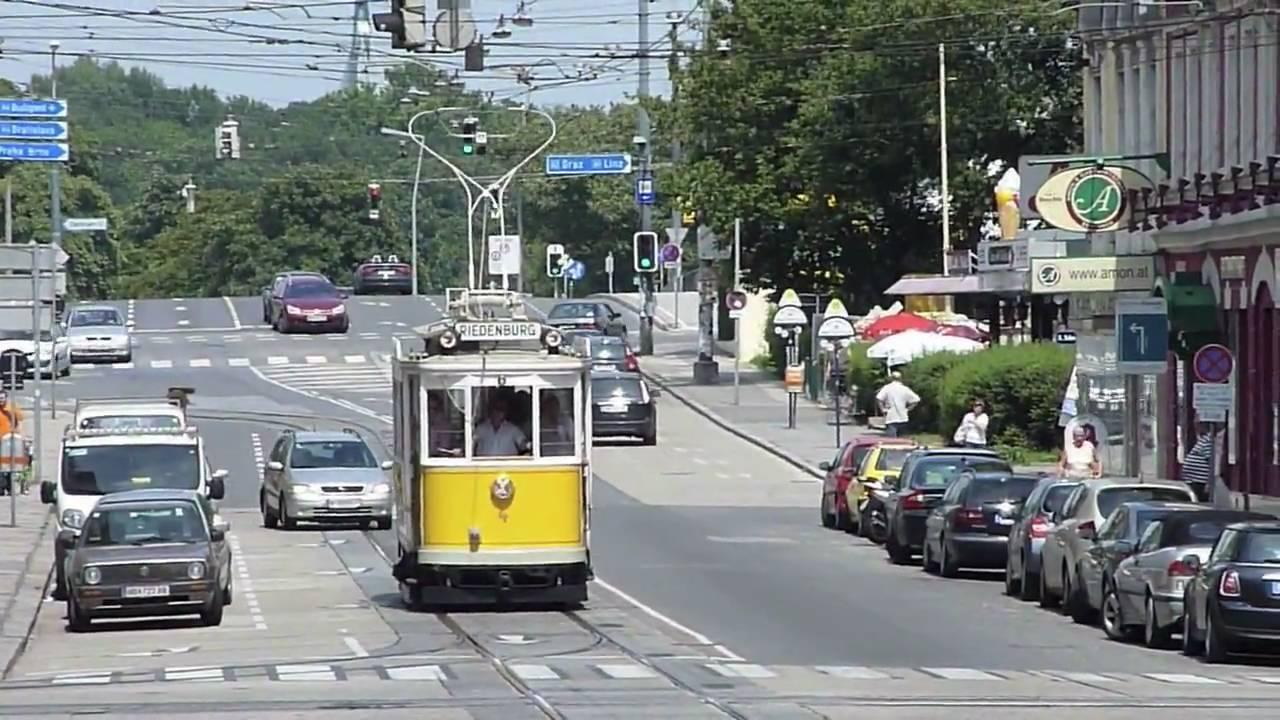 Gelbe Elektrische zu Besuch im Wiener Tramwaymuseum