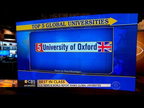 U.S. News & World Report ranks global universities