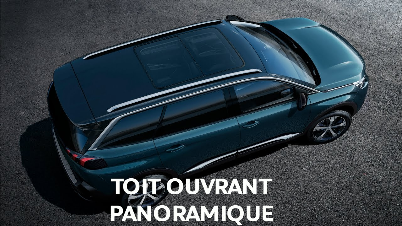 toit ouvrant panoramique nouveau suv peugeot 5008 youtube. Black Bedroom Furniture Sets. Home Design Ideas