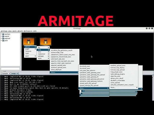 Armitage Kali Linux Complete Tutorial