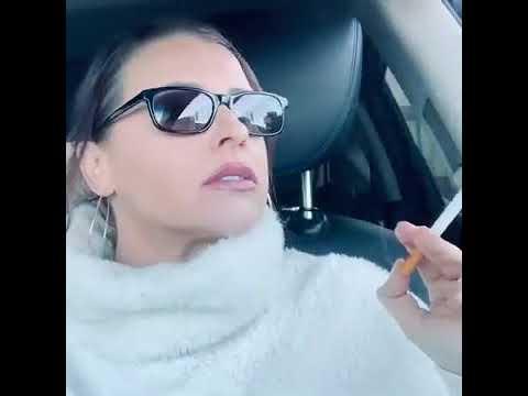 Girl smoking -