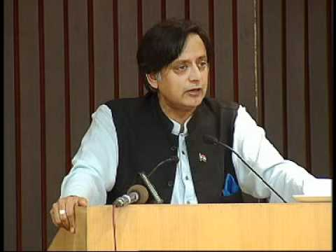Shashi Tharoor speaks at the UNHCR's World Refugee Day 2012 function