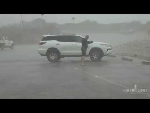 Tropical Cyclone HILDA, Broome WA - 27/12/2017