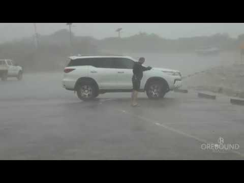 Tropical Cyclone HILDA, Broome WA - 27/12/2017