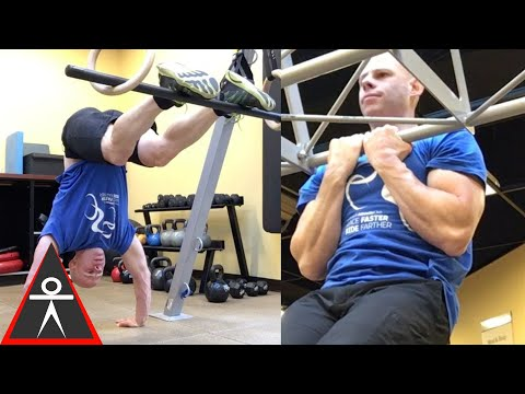My latest Bodyweight Pull-up & Shoulder Workout