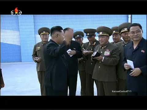[KCTV] Kim Jong Un Directing Construction of Munsu Water Park