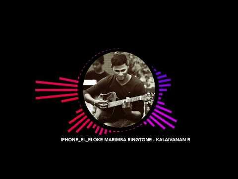 iPhone Ummai Nambi Vandhen Marimba Ringtone | Kalaivanan R