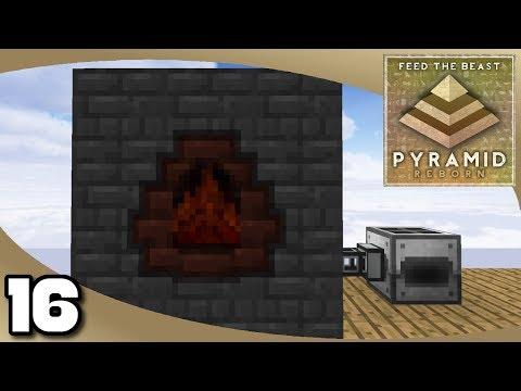 FTB Pyramid Reborn - Ep. 16: Immersive Beginnings