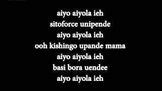Harmonize - Aiyola  Karaoke