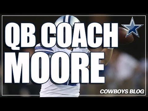 Kellen Moore QB Coach for Dallas Cowboys