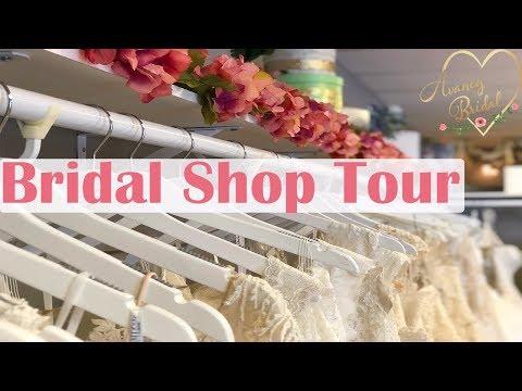 Bridal Shop Tour - Inside A Bridal Boutique