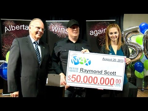 Winners of $50M Lotto Max jackpot unveiled in Edmonton