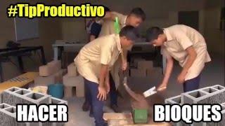 Hacer Bloques para Construcción en 30 Segundos #TipProductivo