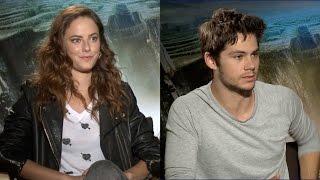 CAPRICHO entrevista: Kaya Scodelario e Dylan O'Brien, do filme Maze Runner - Correr ou Morrer