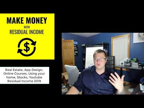 Best Ways To Build Passive Income In 2019