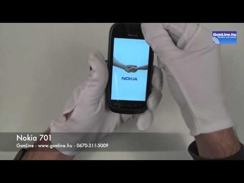 Nokia 701 bemutató | GsmLine.hu