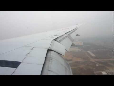 Air India Landing - Delhi
