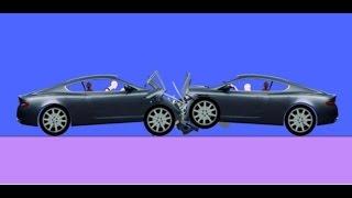 Phun Algodoo Car Destruction #5