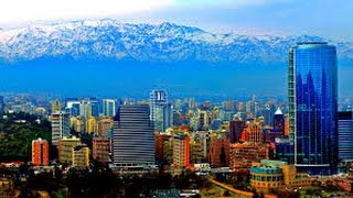 Chile - Santiago - from the air