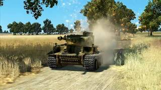IL 2 Great Battles -Tiger tank vs everything
