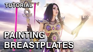 Cosplay Tutorial - Painting a Breastplate