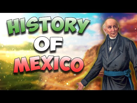 History of Mexico in 3 Minutes. Animated History #3