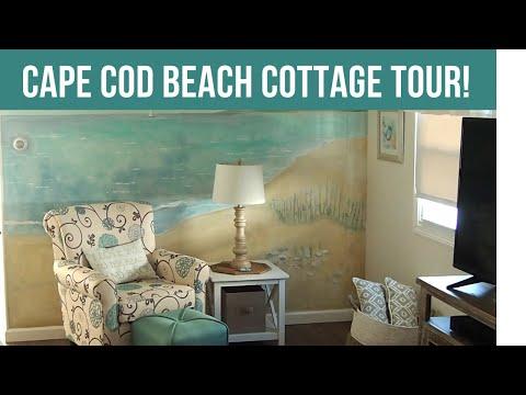 Tiny Beach Cottage/Trailer On Cape Cod/HOME TOUR