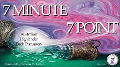 Highlander 7 Minute 7 Point – Archetype Overviews 1 to 6