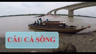 CÂU CÁ SÔNG MIỀN TÂY | HUYNH KHOA FISHING
