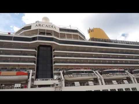 P&O - ARCADIA Cruise / PART 1