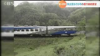 島根県と沿線の市町がJR木次線「奥出雲おろち号」の運行継続を要望
