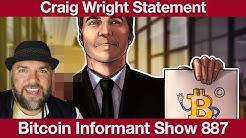 #887 Craig Wright Statement, Private Keys Satoshi File & Iran nationale Krypto Mining Strategie