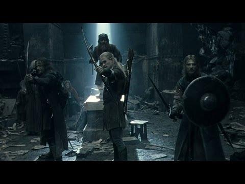 Le Seigneur Des Anneaux 1 - Bataille Dans Les Mines (Scène Mythique) streaming vf