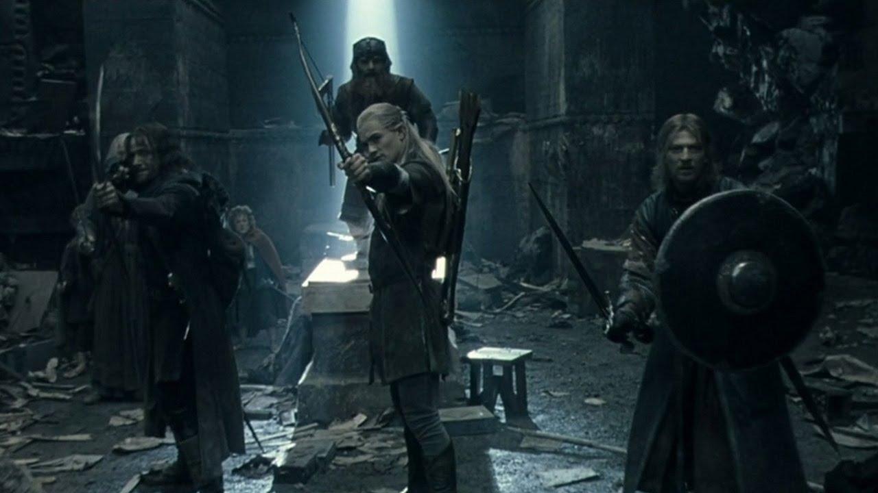 les clients d'abord dessin de mode achats Le Seigneur Des Anneaux 1 - Bataille Dans Les Mines (Scène Mythique)