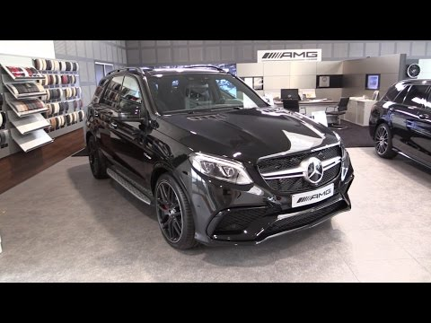 Mercedes-Benz GLE 63 S AMG 2017 In Depth Review Interior Exterior