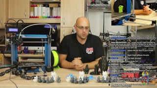Chillout Q&A Session - Talking Prusa I3 MK3, TCT, and some other 3DP Stuff thumbnail