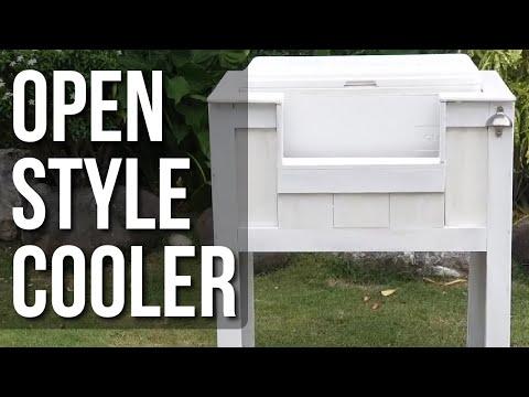 DIY Wood Cooler Mod - Open Style