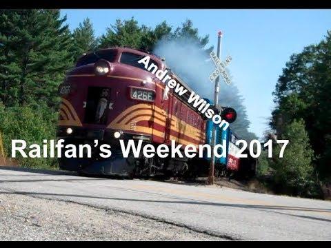 CONWAY SCENIC RAILROAD: RAILFAN'S WEEKEND 2017