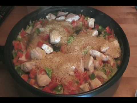 Paella Z Kurczakiem Video Kuchniapl
