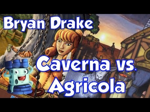 Caverna vs. Agricola Comparison - with Bryan Drake