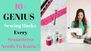 12 Sewing Tips, Tricks and Hacks That Every Seamstress Should Know!