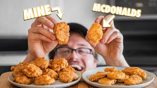 Making McDonald's Chicken McNuggets At Home | But Better