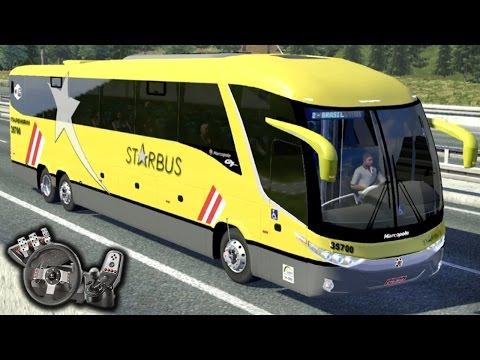 Euro Truck Simulator 2 - Viação Itapemirim - StarBus - Freio motor - Paradiso G7 - Com Logitech G27