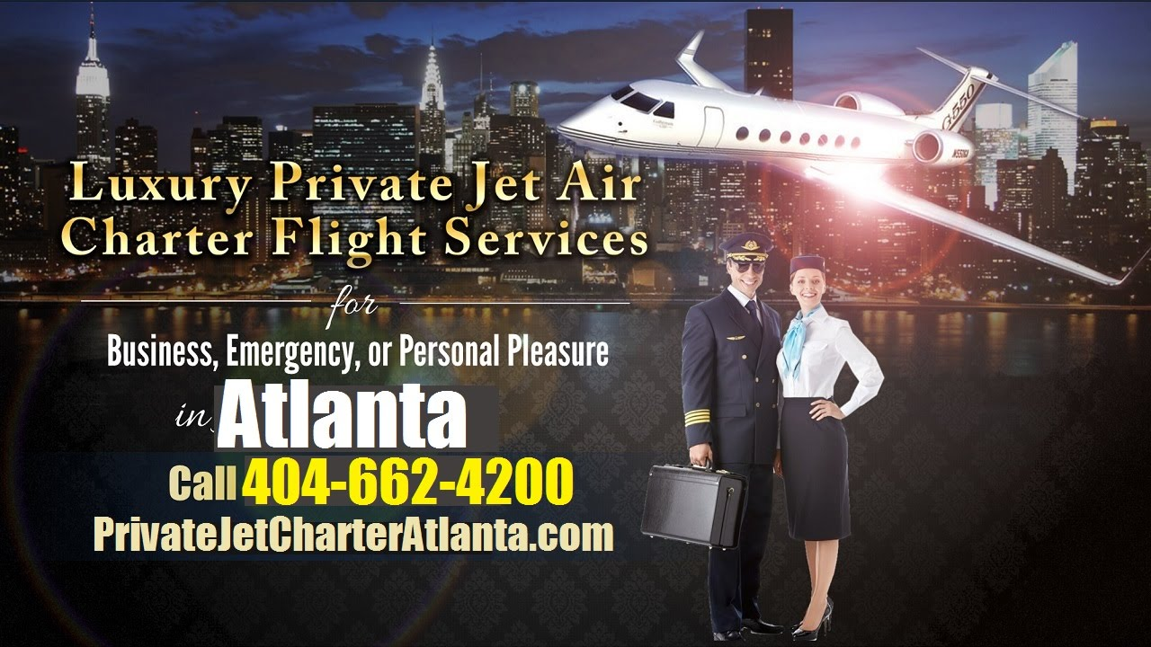 Private Jet Charter Flight From Or To Augusta Columbus Savannah Atlanta GA
