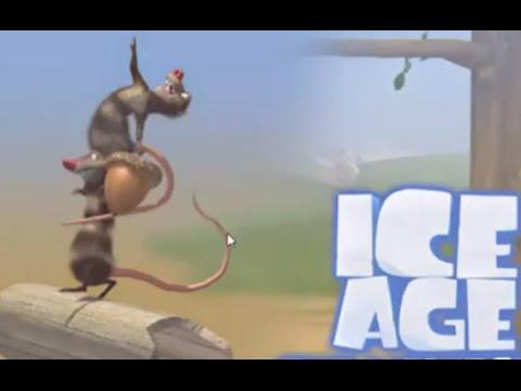 Игра белка ледниковый период бегает бледанс эвелина и энджи
