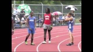 Repeat youtube video Burch Antley - Jadeveon Clowney 4x100m State Track Finals (2010)