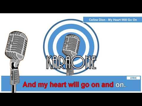 Celine Dion - My Heart Will Go On ( TITANIC DANGDUT KOPLO ) - Karaoke Lirik populer