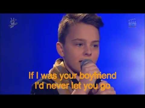The voice kids G-Mike-Boyfriend (Lyrics)