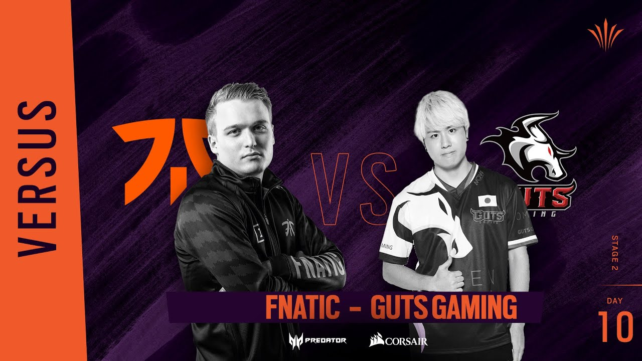 Fnatic vs GUTS Gaming // Rainbow Six APAC North Division 2020 - Stage 2 - Playday #10